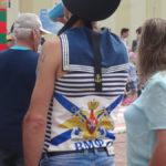 Символика ВМФ присутствует