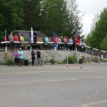 Автомногоборье проходило на автодроме ДОСААФ