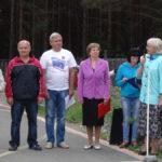 Удачи на финише пожелала участникам заместитель главы администрации Жанна Алферова