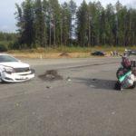 Врач Карпинской ЦГБ: «Мотоциклист в помощи не нуждался»