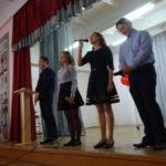 Ученики 11-го класса выступили с песней о школе