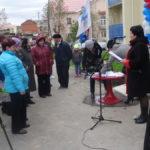 Торжественное открытие нового дома вела Анна Припорова