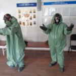 Карпинские ребята задали вопросы спасателям на открытых уроках ОБЖ