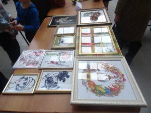 Все, что было представлено на выставке - изделия ручной работы