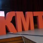 """На сцене красовались большие буквы """"КМТ"""" и цифра """"70"""""""