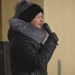 От лица мэра горожан поздравляла заместитель главы города по соц политике Жанна Алферова