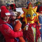 Всего на конкурсе масленичных кукол было представлено 14 шедевров ручной работы