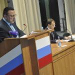 Глава Карпинска отчитается о работе за прошлый год