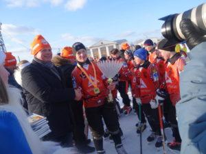 Самым большим кубком была награждена карпинская команда «Спутник-2005»