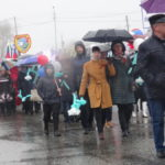 В шествии приняли участие горожане всех возрастов