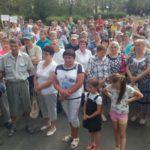 На митинг пришли люди разных возрастов