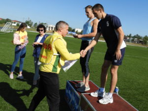 Награждение спортсменов