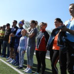 День физкультурника в Карпинске начался с легкоатлетических забегов, которые прошли на городском стадионе «Труд»