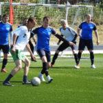 На городском стадионе «Труд» прошли заключительные игры городского турнира по футболу, посвященного памяти Гордея Шмика